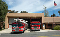 Picture of san diego fire station 40
